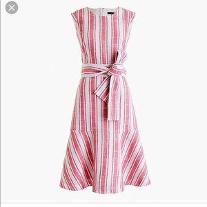 J. Crew Linen Blend Sleeveless Dress. NWOT